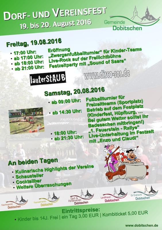 Tradition Trifft Neue Ideen Das War Das Dorffest 2016
